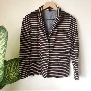 J Crew | Striped Maritime Blazer